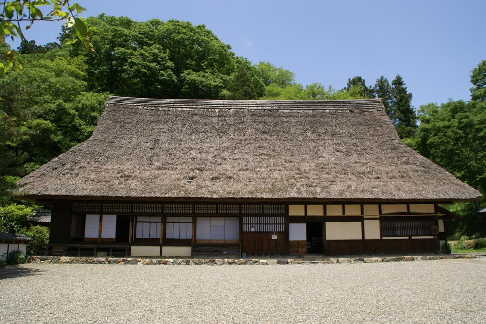 江戸時代後期の伝統的な建築様式を今に伝える