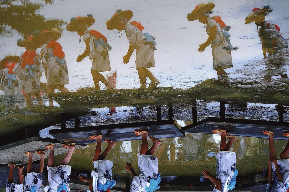 城川どろんこ祭り