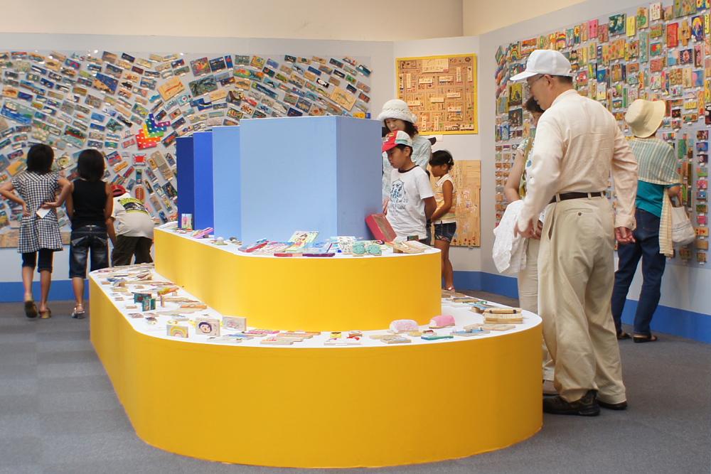かまぼこ板の絵展覧会