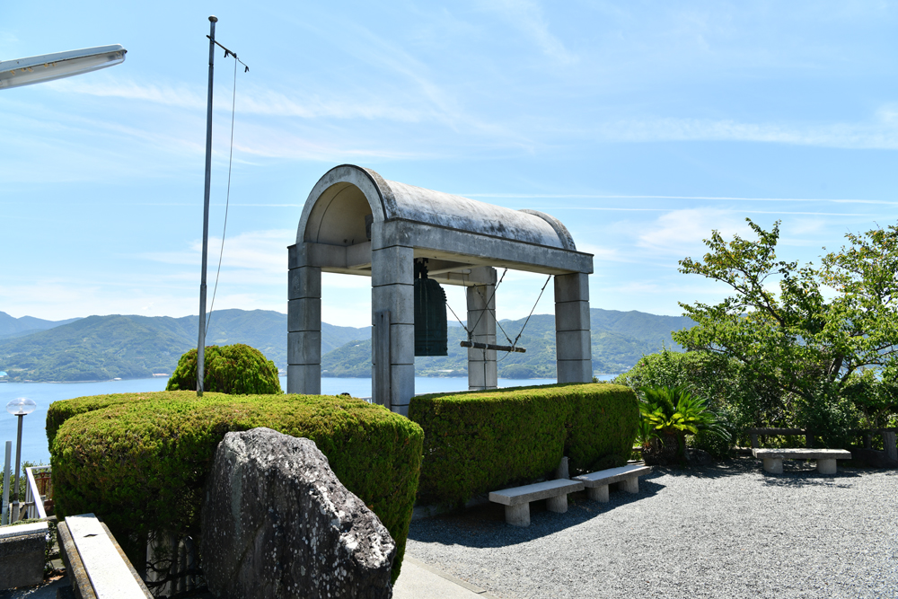 須崎園地の鐘