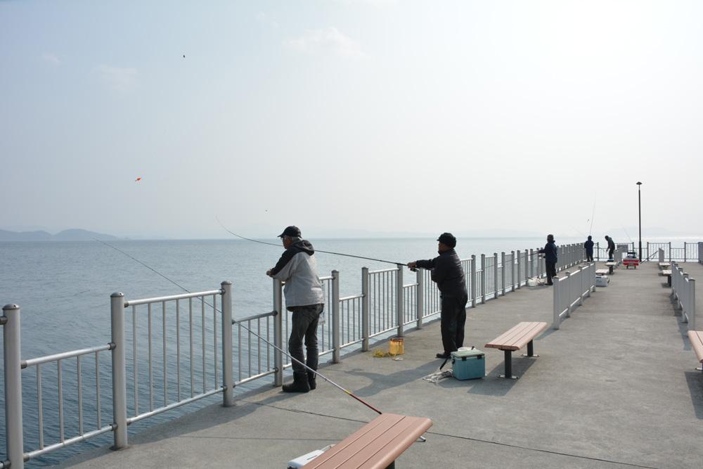 釣りやすいフェンス