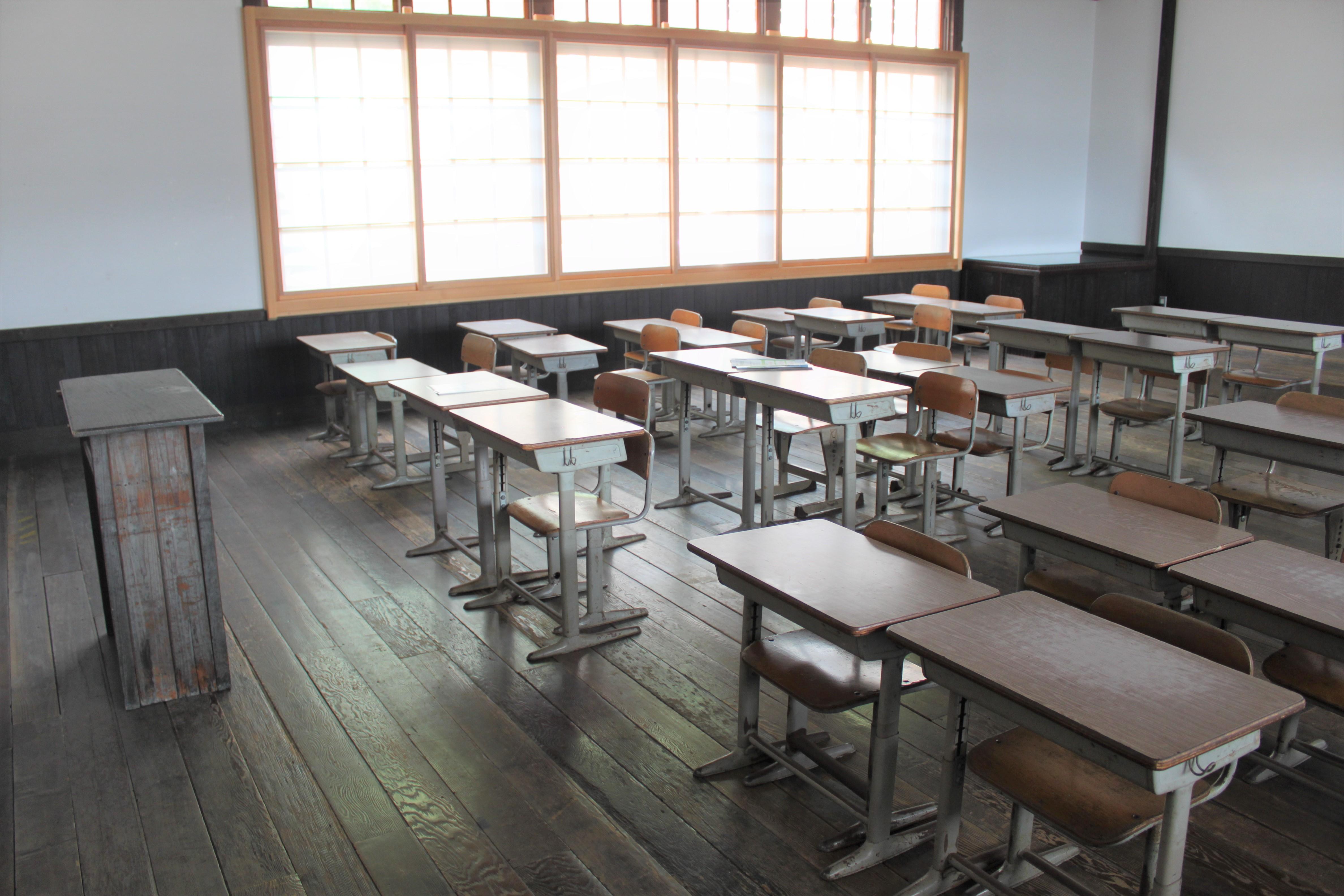 昔懐かしい教室