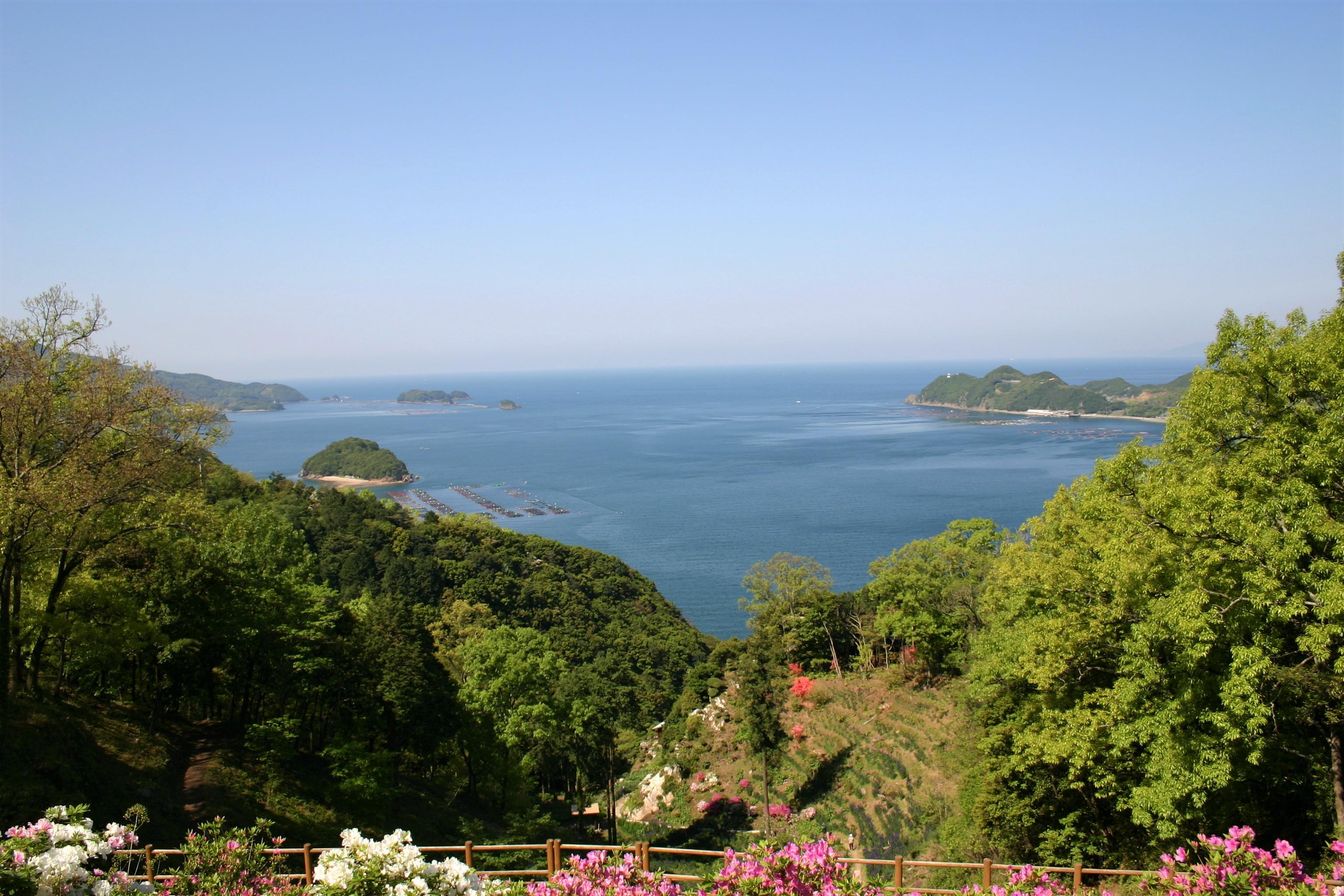 福島展望公園「あらパーク」からの眺め