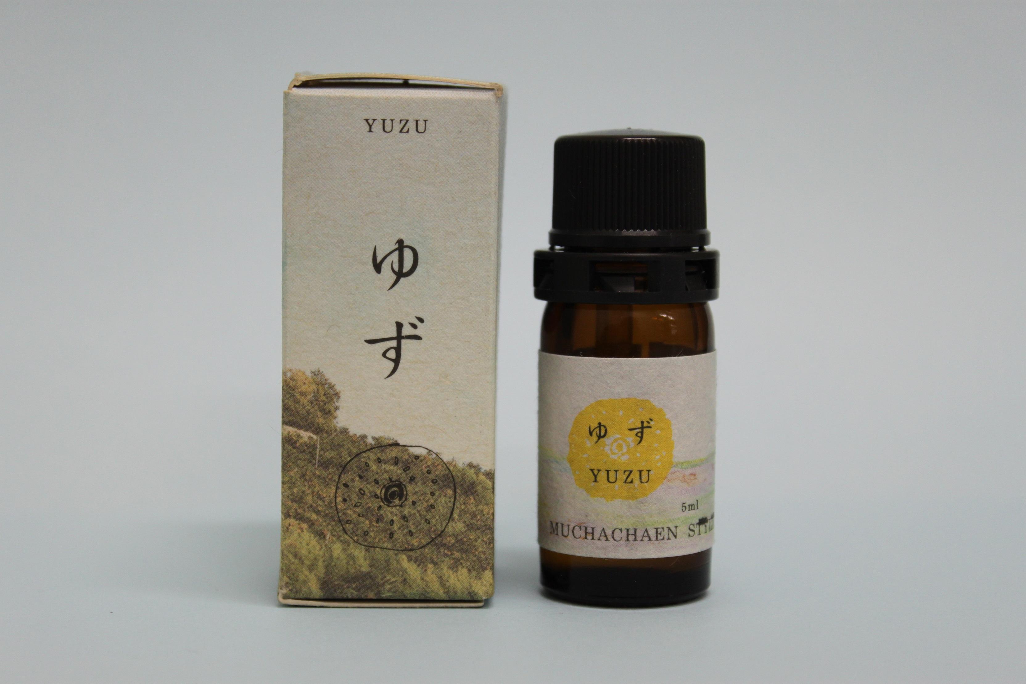 柚子エッセンシャルオイル・箱