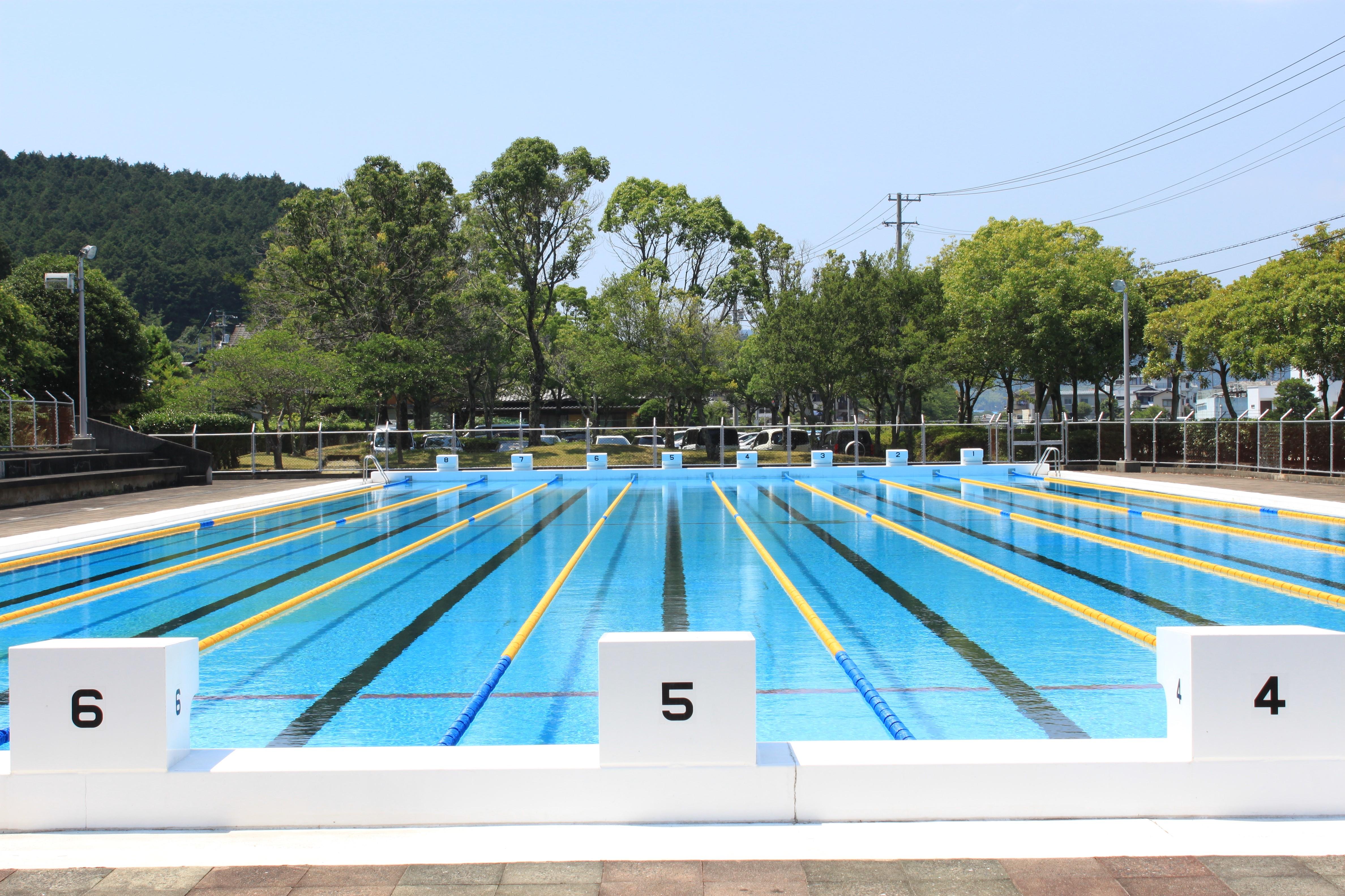 宇和プール(50mある大プール)